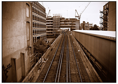 Train Tracks in London