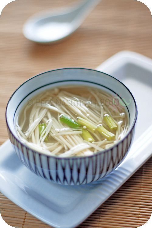 Enoki Miso Soup | Zone Food