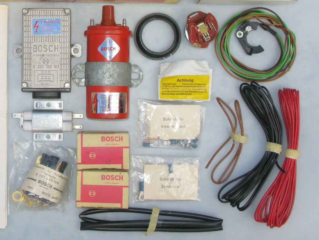 Bosch electronic ignition kit