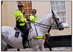 Mounted Police, Black Friars Lane (swanksalot) Tags: horse london strangers police mounted swanksalot sethanderson