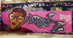 graffiti la rochelle, le gabut (thierry llansades) Tags: streetart wall painting graffiti mural graf spray atlantic peinture urbanart painter 17 graff larochelle aerosol francia bombing charente graffitis fresque charentemaritime poitoucharentes aunis frenchgraff legabut