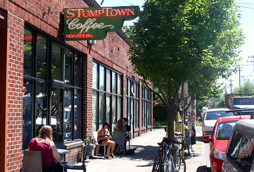 Front of the Stumptown outpost
