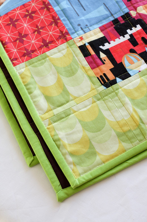 Modern Plus Quilt Tutorial - In Color Order