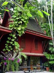 Bangkok - Jim Thompson's House (zorro1945) Tags: thailand asia orchids bangkok asie siam teak jimthompson teakhouse jimthompsonshouse