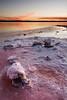 Somebody Need Salt? (DavidFrutos) Tags: blue sunset orange water azul reflections atardecer agua salt paisaje alicante filter nd alfa alpha filters naranja sal reflejos waterscape alacant filtro sigma1020mm filtros neutraldensity salinasdetorrevieja sonydslr horaazul densidadneutra davidfrutos α700 singhraygalenrowellnd3ss