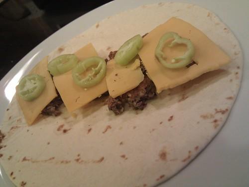 Black Bean Burger Burritos