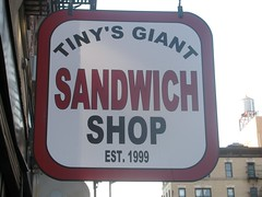 Tiny's Giant Sandwich Shop by edenpictures, on Flickr
