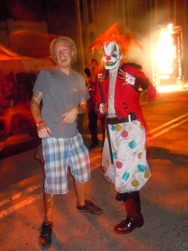 jack the clown in hhn 20 years of fear scare zone