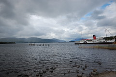 Balloch (bettyboop ek) Tags: uk scotland steamship balloch lochlomond d40 maidoftheloch bettyboopek built1953 builderajinglis