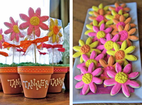 What a great idea for presenting party favors! daisy_party_4. Adult party ...