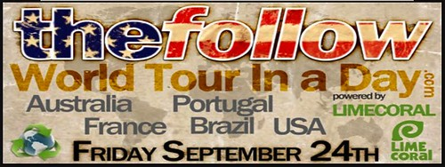 THE FOLLOW WORLD TOUR Banner