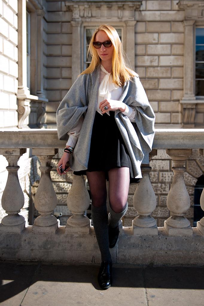 London Fashion Week - Somerset House - Eveline