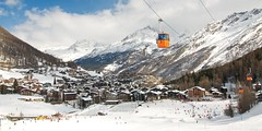 (xim-crow) Tags: winter snow ski mountains nature montagne landscape schweiz switzerland vacances nikon scenery holidays suisse swiss valley neige vs paysage valais 2010 d300 vallée saasfee ximcrow