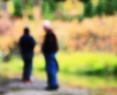 Au Revoir (bratli) Tags: autumn creek colours edmonton september farewell alberta ravine theguys aurevoir bratli herfavoriteplace blackmud tobess