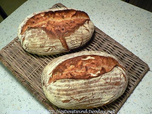 Brot mit ofengebackenen Kartoffeln 001