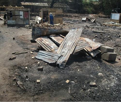 Fire At Denver Hostel, Johannesburg