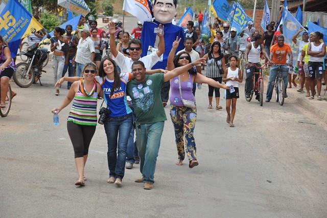 Caminhada em Vila Boa