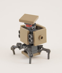 C.U.B.E. Deployable Defense-Turret (Titolian) Tags: lego space cube future defense turret deployable