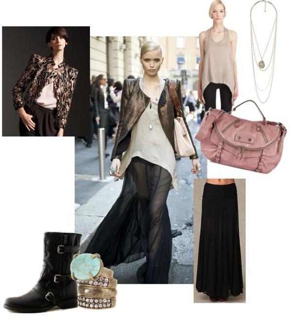 Milan Fashion Week 2010 Street Style - Abbey Lee Kershaw