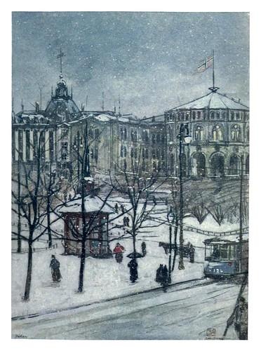 015-El parlamento en Christiania-Norway 1905 -Nico Jungman
