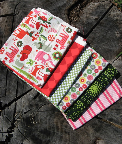 Season of Smiles Fabric Stack