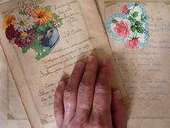 Memories that change (analu prestes) Tags: art book photo poetry time mother memory