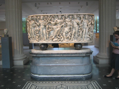 Marble Sarcophagus, Roman, about A.D. 220-230 _8237