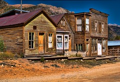 Saint Elmo Ghost Town Chaffee county Colorado (Taos Fine Art Photography) Tags: nikon colorado ghosttown stelmo chaffeecounty d5000 topazhdr hdrexpose