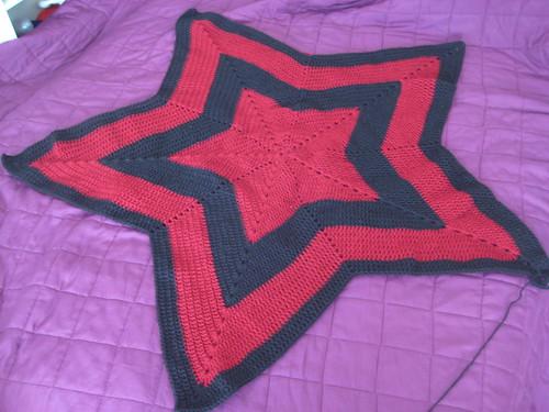 star blanket wip