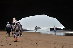 Leghzira (Morocco) - The first arch ( V ) Tags: ocean africa sea cliff beach nature rock sand arch northafrica morocco maroc marruecos maghrib legzira leghzira ilobsterit