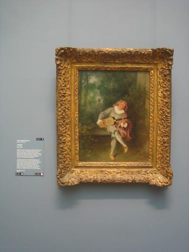 Mezzetin, c. 1718-20, Jean Antoine Watteau _8326