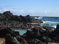 Lava Inlet Makena Cove (stu_macgoo) Tags: ocean hawaii lava waves view maui makena makenacove