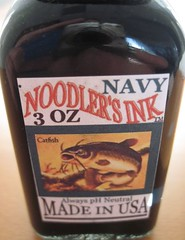 Noodler's Navy Ink Bottle Label