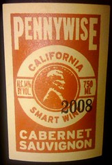 Pennywise Wine label