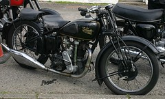 Willie's 1934 Velocette KTS 349 - at Kippford (velton) Tags: classic club vintage moto motorcycle ayr veteran motorrad velton