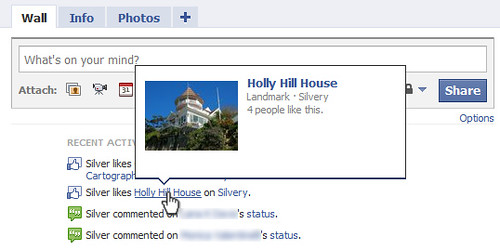 Holly Hill House en Facebook