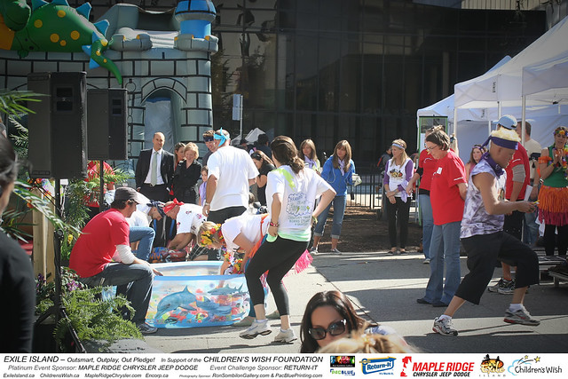 EXILE ISLAND-Childrens Wish Foundation-MapleRidge Chrysler-Return It-photos by RonSombilonGallery and PacBlue Priting (824) by Ron Sombilon Gallery