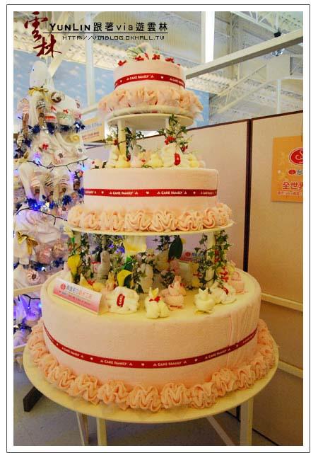 【雲林興隆毛巾工廠】興隆毛巾觀光工廠~毛巾蛋糕21