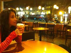 Starbucks :) (Stephanie~Nichole) Tags: ca car lights pretty christina candid starbucks