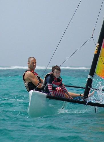 James & Jex sailing