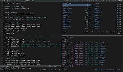 Sessions in tmux