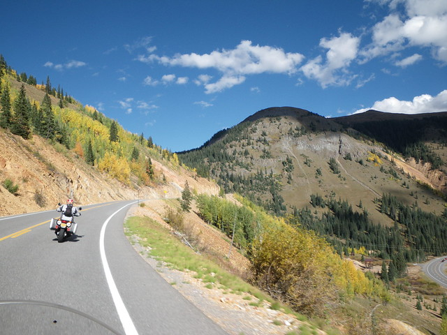 colorado silverton ouray highway550 bmwf650gs themilliondollarhighway