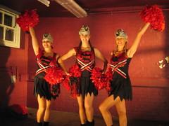 Gothic Cheerleaders in Primal Device Video (Cheer Fit) Tags: cheerleaders cheerleading musicvideo pompoms gasmasks cheerfit cheerfitcheerleaders gothiccheerleaders primaldevice