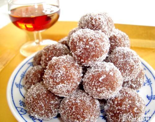 Rum Brownie Truffles