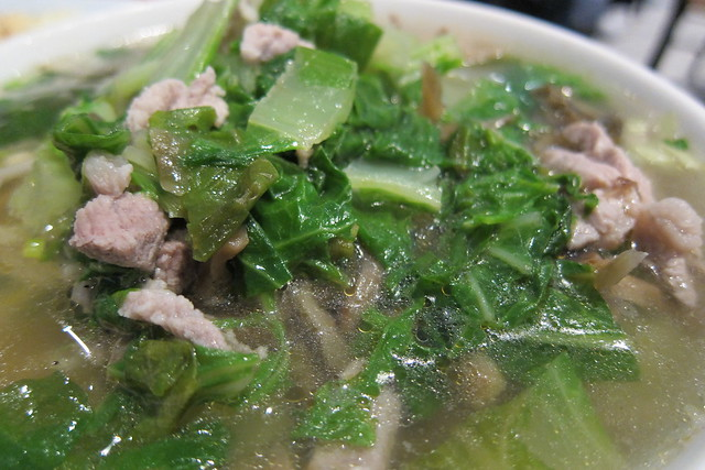 Dolphin Bay: Salted Pickle with Pork Noodle Soup (#26)