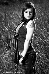 Day 275/ 365 Michelle (patnoconnor) Tags: portrait blackandwhite wisconsin model michelle rimlight strobist canon40d modelmayhem1537177 modelmayhem1573308