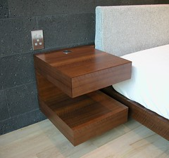 Cantilevered Nightstands