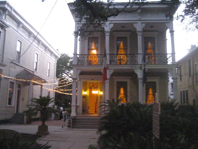 Degas House Exterior, New Orleans