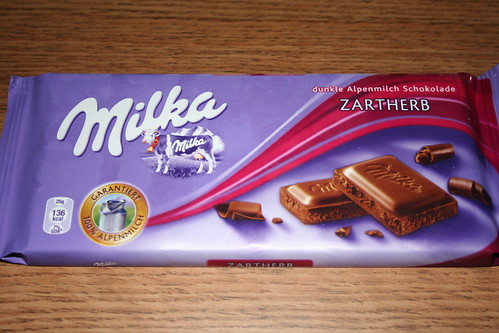 2010-09-30 - Shanghai - Junk Food - 01 - Milka zartherb chocolate