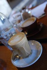 Caffe Latte, Flat White - Il Fornaio AUD3.80 each